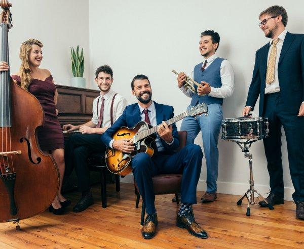 Cream Colored Ponies, jazzcats met een passie voor de swingmuziek uit de jaren '30 en '40