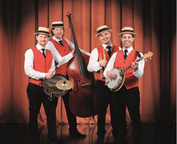 The Almost Swinging Jazz Band jazz trio quartet swing bluess muziek hofnar receptie band