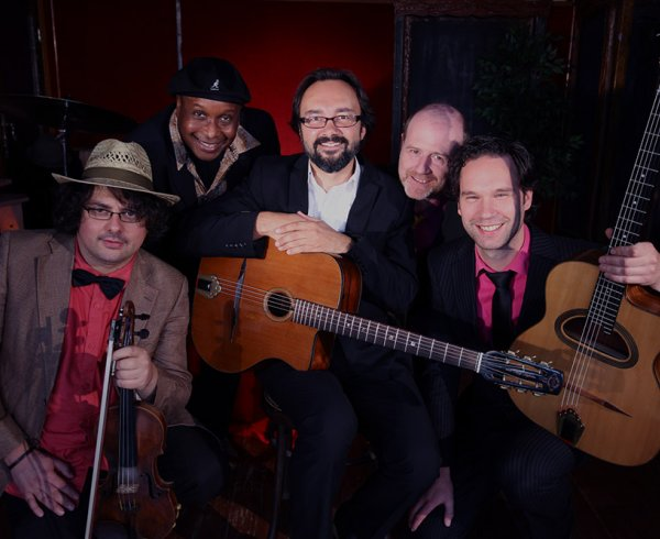 Les Tzigales, jazz band met retro swing, musette en gipsy jazz
