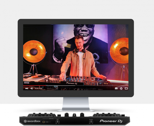 hofnar dj school dj lessen gueush live online video pioneer cdj djm mixer